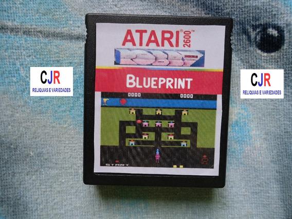 Blueprint - Cartucho Original Da Marca Robby - Atari 2600