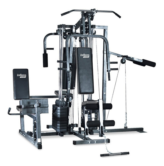 Multigimnasio Zellens Ze 2800 Fitness Profesional 130kg P