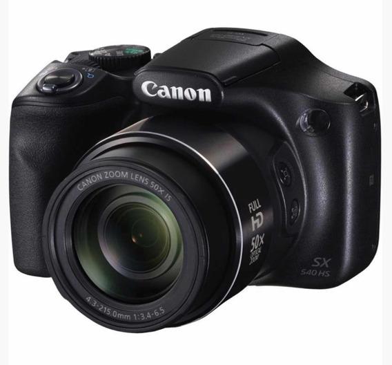Câmera Digital Cânon Powershot Sx540hs 20.3 Mp Nfc Wi-fi
