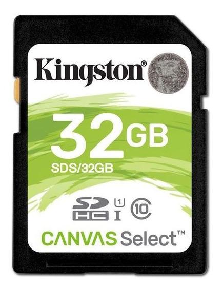 Cartão De Memória Kingston Sd Select Classe 10 80mb/s 32gb