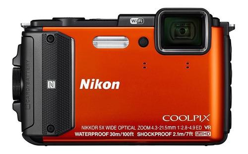 Nikon Coolpix Aw130 Camara Sumergible Digital Wifi A Pedido!