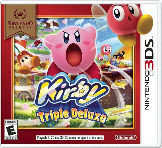 Kirby Triple Deluxe Nintendo Versão Digital Código Eshop