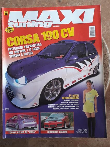 Revista Maxi Tuning Agosto De 2004