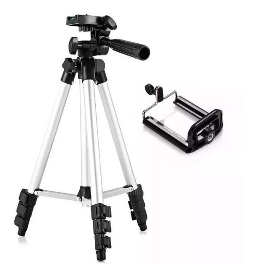 Tripé Câmera Inova Spo-8194 Alumínio 1,50m + Suporte Celular