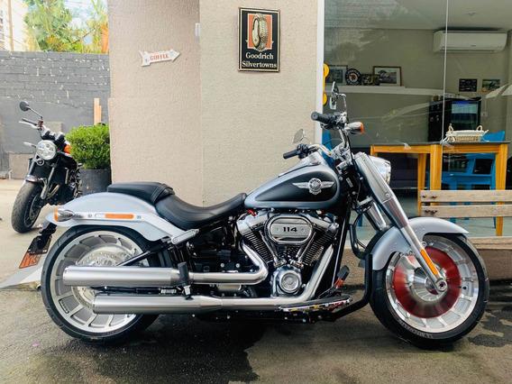 Harley-davidson Fat Boy 114 2020 Apenas 300kms