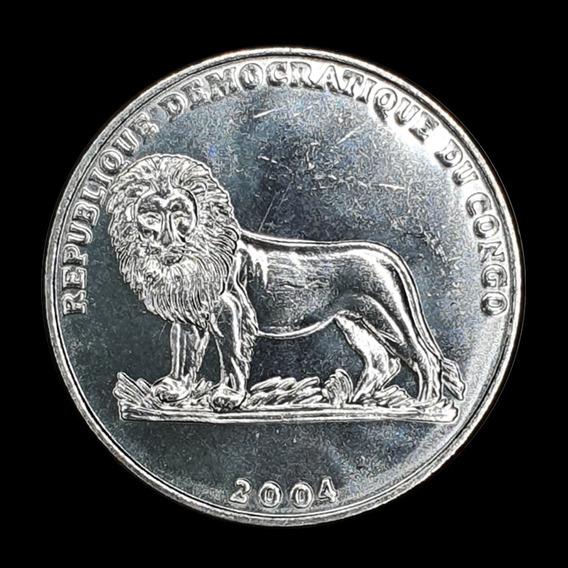 Ch C / Rep. Dem. Del Congo, 1 Franc 2004 Km#157 Unc