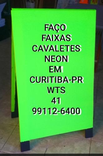 Faixas E Cavaletes Barato Em Curitiba -pr Wts 41 99112-6400