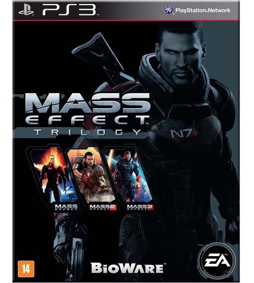 Jogo Ps3 Mass Effect Trilogy Midia Fisica Novo Lacrado!!
