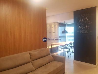 Apartamento Mobiliado Para Alugar No Campolim Sorocaba, 52m² - Ap1130