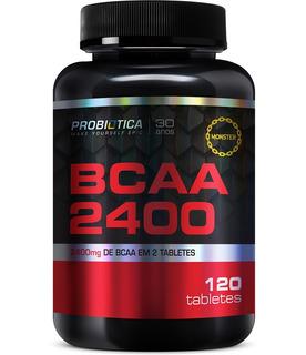 Bcaa 2400 120 Tab Probiotica Linha Moster
