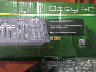 Controlador Dmx Obey 40 512