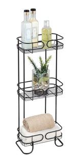 Repisa Mueble Baño Estante Organizador Ducha Metal Durable I
