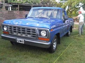 Ford F100 Modelo ´78
