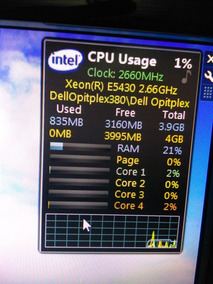 Dell Optiplex 380 Xeon Quadcore