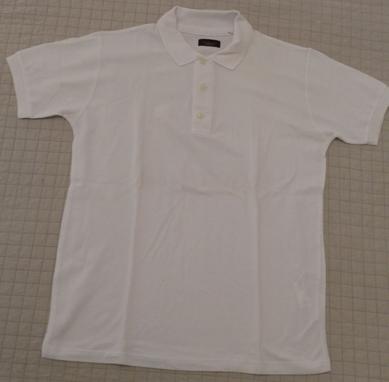 Chomba Zara Original Color Blanca , Xl, Oferta Imperdible