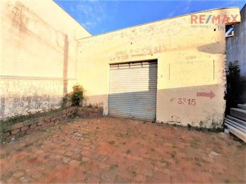 Imagem 1 de 3 de Galpão Para Alugar, 80 M² Por R$ 1.300/mês - Vila Nova Botucatu - Botucatu/sp - Ga0070