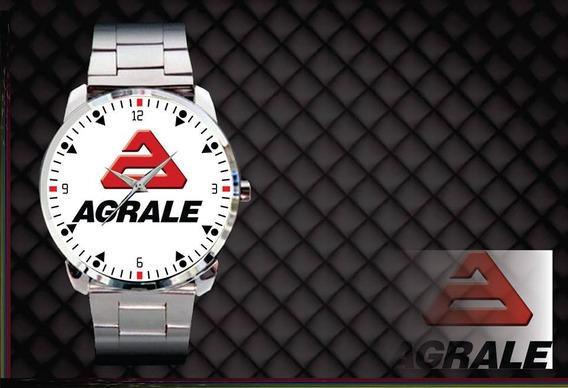 Relógio De Pulso Personalizado Logo Agrale Maquinas Pesadas