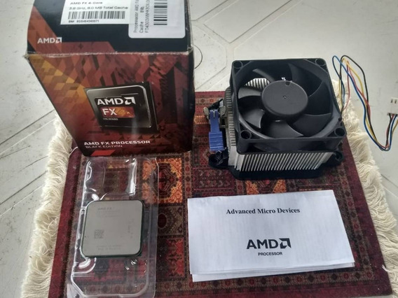 Processador Amd Fx-4300 Black Edition + Cooler.