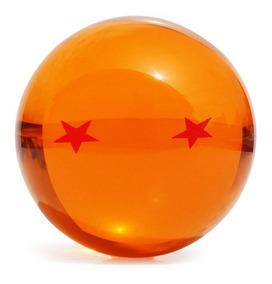 Esfera Do Dragão Tamanho Grande Real 7cm Goku Dragon Ball Z