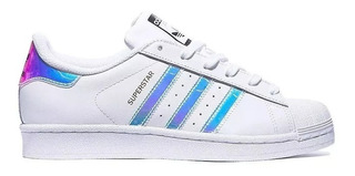zapatillas adidas blancas con rayas negras