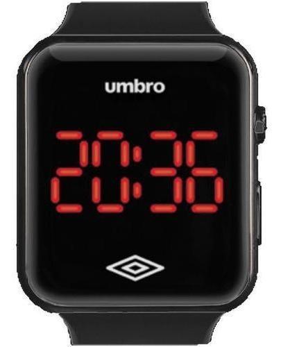 Relógio De Pulso Umbro Umb-led-b Preto Digital