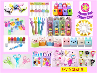 Kawaii Box Happy Cute Caja Sorpresa 30 Articulos Regalo