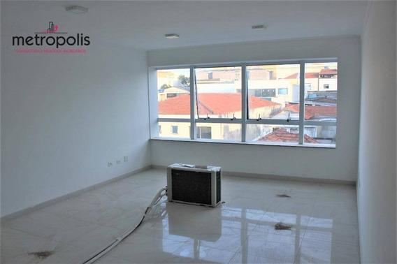 Sala Para Alugar, 31 M² Por R$ 1.480,00/mês - Nova Gerty - São Caetano Do Sul/sp - Sa0124
