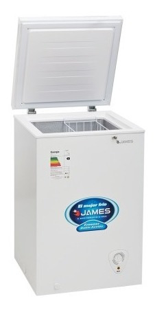 Freezer Horizontal James 100 M Doble Accion Heladera Freezer