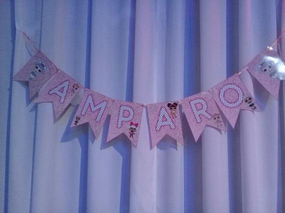 Banderines Personalizados Cumpleaños Baby Shower Bautismo