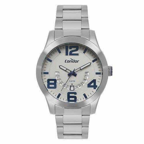 Relógio Condor Masculino Speed Prata Co2115kug/3c