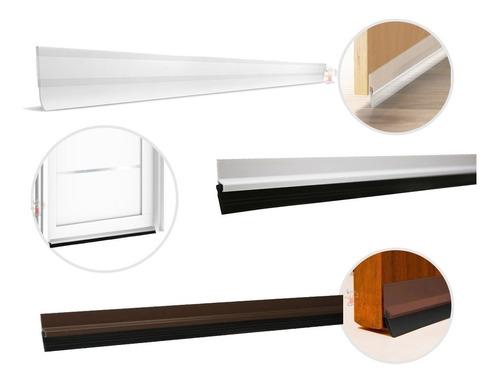 Veda Porta C/ Adesivo 3m Rodo Silicone 80cm- Stamaco