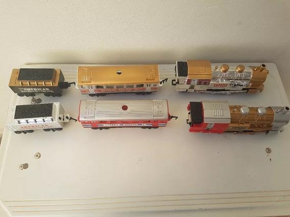 Trem Union Express Western Railway Brinquedo Antigo