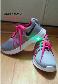 Zapatillas Nike,reebok Niña Luces Led
