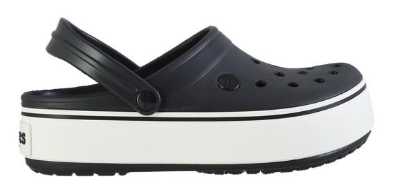 Sueco Crocs Platform Clog Mujer Bl