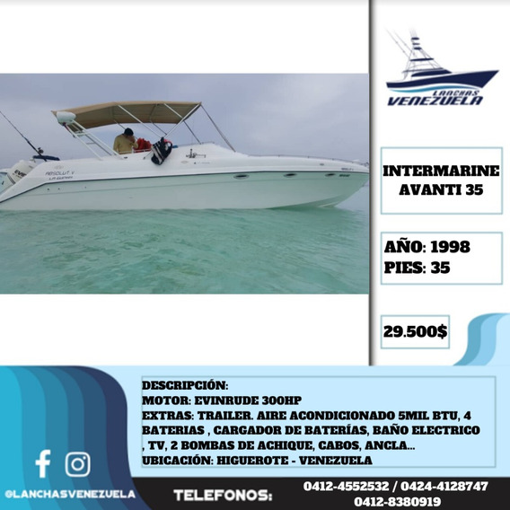 Lancha Intermarine Avanti 35 Lv543