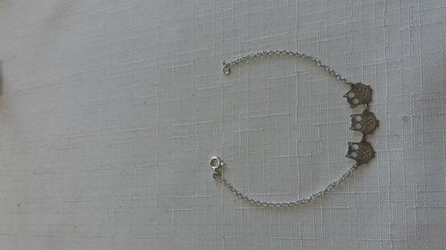 Imagem 1 de 1 de Pulseira Jóia Prata 925, Garantia Eterna No Material