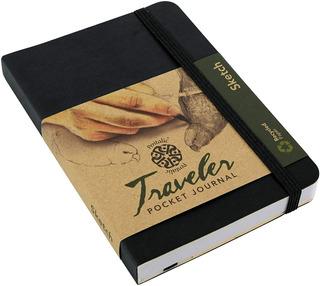 Pentalic Diario De Bolsilo Sketchbook Pocket 15cm X 10cm