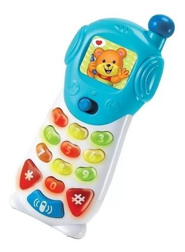 Telefono Celular Infantil Didactico Con Luz Y Sonido Winfun