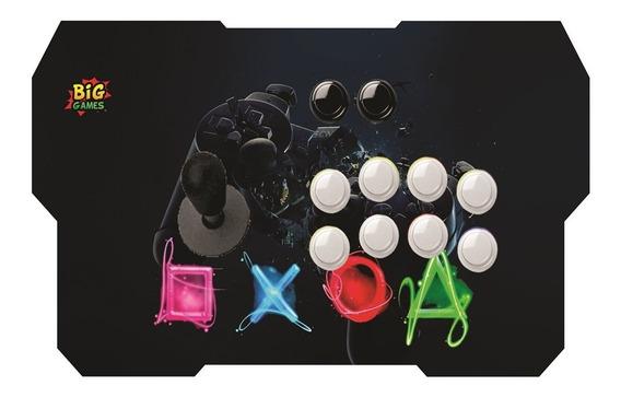 Controle Arcade Usb Ps3 -ps4 - Pc E Retro Game - So Liga