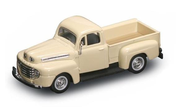 Yat94212-c 1948 Ford F-1 Pickup Creme 1948 1:43