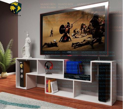 Mueble Modular Mesa Para Tv, Grandes Y Pequeñas Tvs