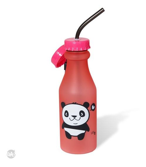 Garrafa Canudo Panda Fosca Uatt
