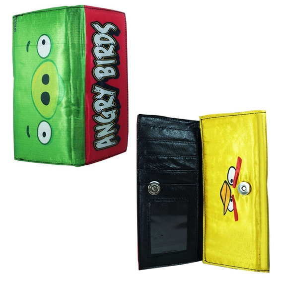 Angry Birds Cartera Larga Pig Chuck