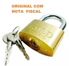 Cadeado 60 Gold Tetra Original Nota Fiscal Gt-60