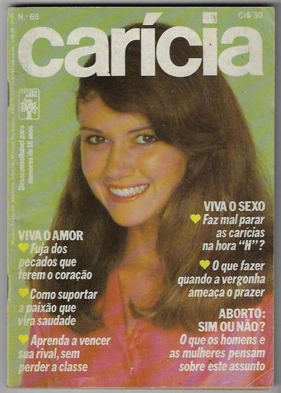 1980 Revista Carícia Nº 65 Editora Abril Fotonovela
