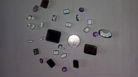 Lote De Pedras Preciosas Lapidadas