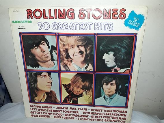 Capa Rollig Stones 30 Greatest Hits