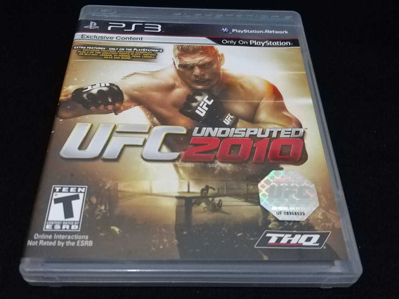 Ufc Undisputed Original Playstation 3 Mídia Física Original