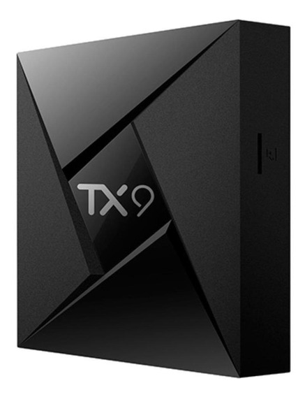 Streaming media player Tanix TX9 padrão 32GB preto com memória RAM de 3GB