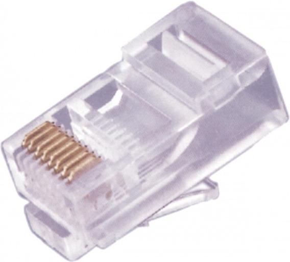 Conector Rj 45 8x8 Cat5e 1000 Peças
